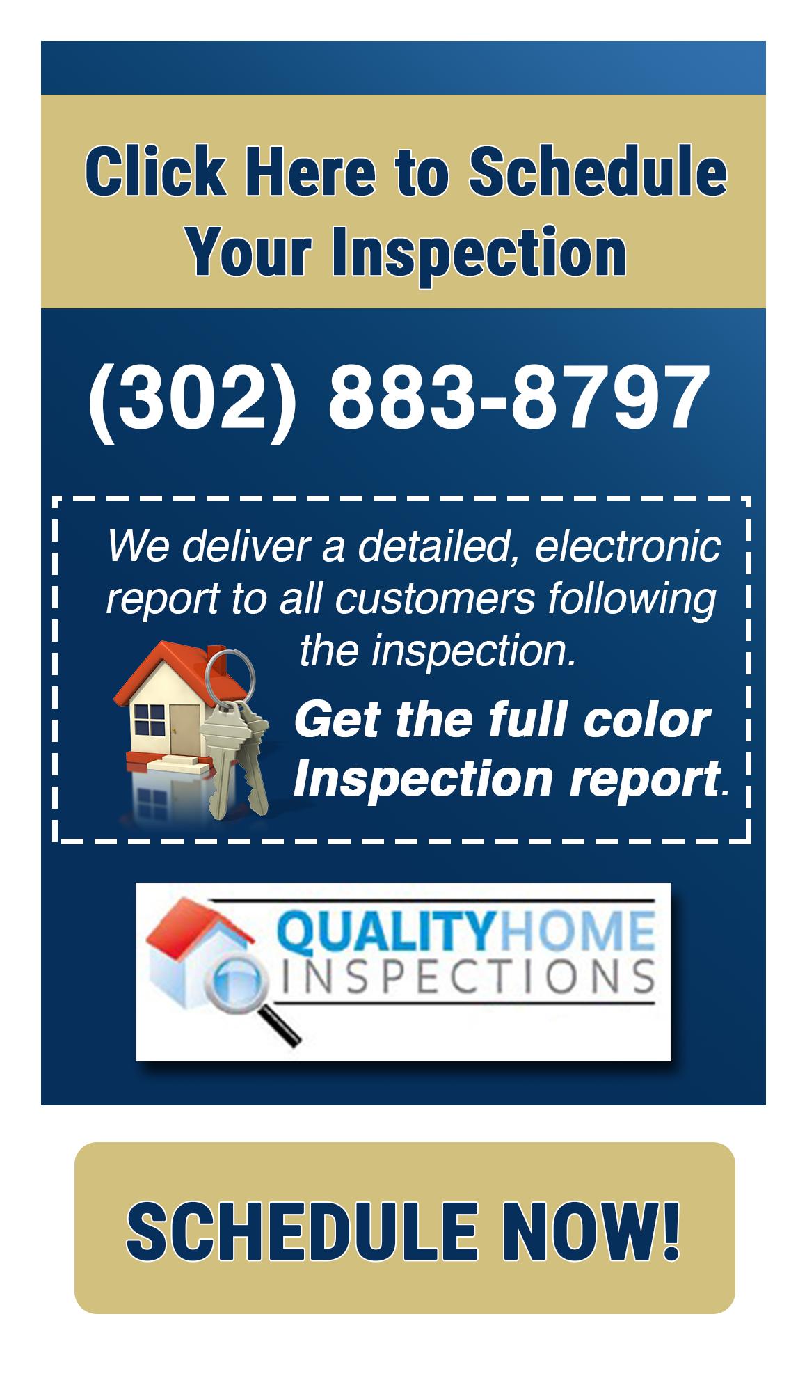 Quality Home Inspections Side Banner
