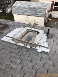Leaking Skylight - Home Inspection Dover DE