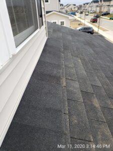 Improper roof installation Newark, DE